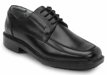 SR Max SRM3000 Manhattan, Men's, Black, Dress Style Soft Toe Slip Resistant Work Shoe