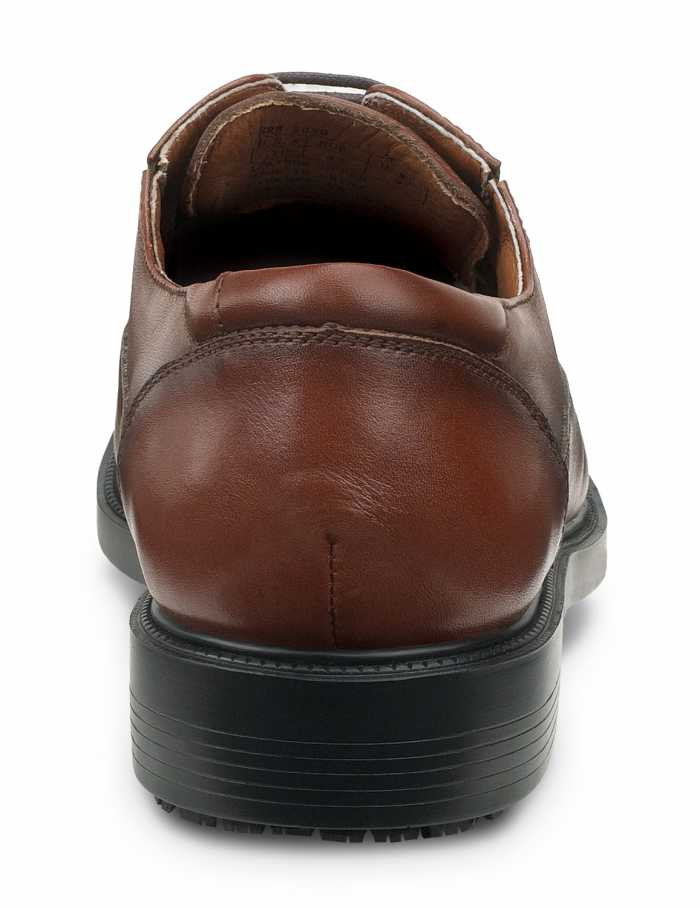 SR Max SRM3050 Manhattan, Men's, Brown, Dress Style Soft Toe Slip Resistant Work Shoe