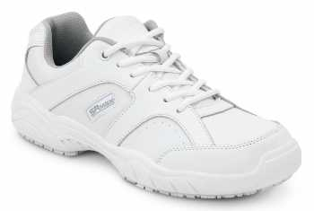 SR Max SRM1540 Seattle Men's White Slip Resistant Low Athletic