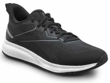 Reebok Work SRB3311 Floatride Energy, Men's, Black/White, Athletic Style Slip Resistant Soft Toe Work Shoe