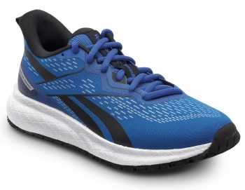 Reebok Work SRB335 Floatride Energy, Women's, Blue/White, Athletic Style Slip Resistant Soft Toe Work Shoe