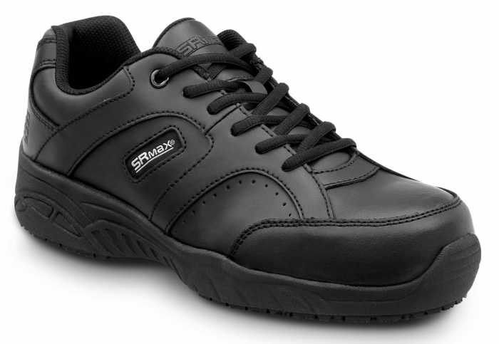 SR Max SRM188 Fairfax II, Women's, Black, Athletic Style Slip Resistant, Comp Toe, EH, Work Shoe
