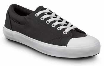 SR Max SRM199 Barcelona, Women's, Black/White, Skate Style Slip Resistant Soft Toe Work Shoe