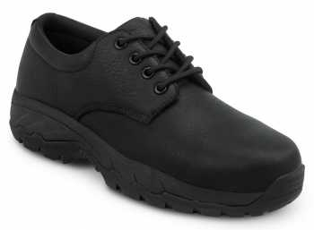 SR Max SRM2050 Burke, Men's, Black Oxford Style, Comp Toe, EH, Security Friendly Slip Resistant Work Shoe
