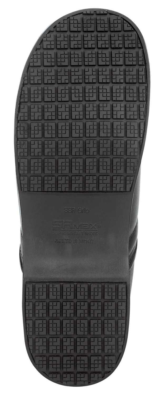 SR Max SRM340 Chicago, Women's, Black, Clog Style Soft Toe Slip Resistant Work Shoe