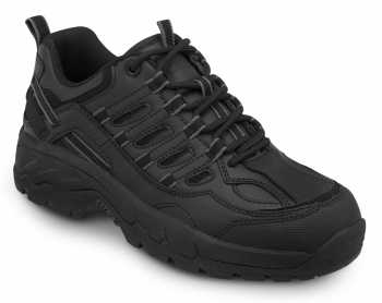 SR Max SRM4500 Carbondale, Men's, Black, Athletic Style Soft Toe Slip Resistant Work Shoe