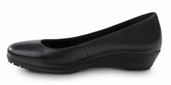 SR Max SRM515 Bristol, Women's, Black, Wedge Dress Style Soft Toe Slip Resistant Work Shoe