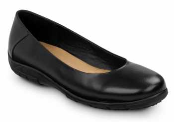 SR Max SRM540 Asheville, Women's, Black, Dress Flat Style Soft Toe Slip Resistant Work Shoe