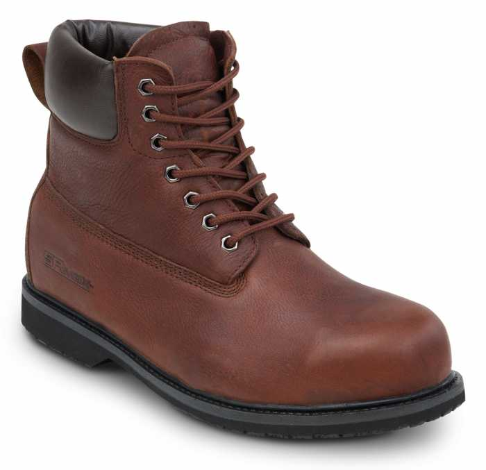 SR Max SRM5525 Boulder Brown, 6 Inch, Waterproof, Steel Toe, EH, Men's, SR Boot