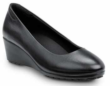 SR Max SRM555 Orlando, Women's, Black Dress High Wedge Style Soft Toe Slip Resistant Work Shoe