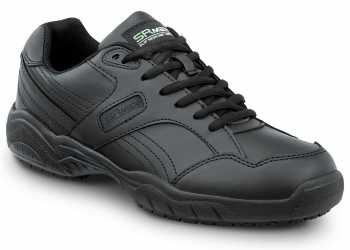 SR Max SRM6100 Dover, Men's, Black, Athletic Style Soft Toe Slip Resistant Work Shoe
