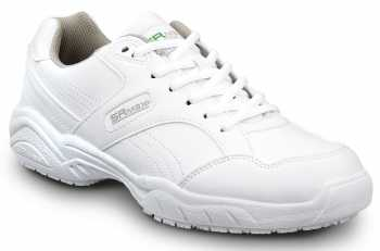 SR Max SRM6140 Dover, Men's, White, Athletic Style Soft Toe Slip Resistant Work Shoe