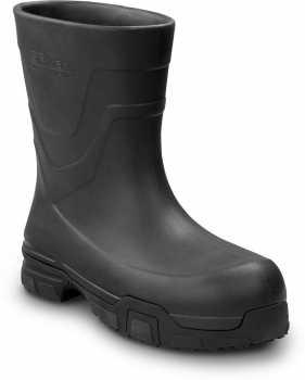 SR Max SRM8450 Everett, Unisex, Black, Pull On Style Soft Toe, Slip Resistant Work Boot