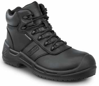 SR Max SRM9150 Lewiston, Men's, Black, Comp Toe, EH, Waterproof, Slip Resistant 6 Inch Work Boot