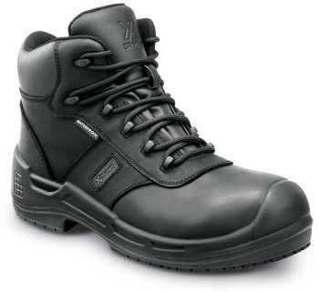SR Max SRM9150 Lewiston, Men's, Black, Comp Toe, EH, Waterproof, Slip Resistant 6 Inch Work Boot