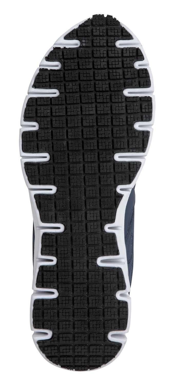 SKECHERS Work SSK605NVBL David Navy/Columbia Soft Toe, Slip Resistant, Low Athletic