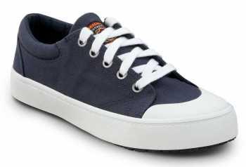 Skechers SSK8041NVW Kendall Navy/White, Women's, Soft Toe, Slip Resistant Skate Shoe