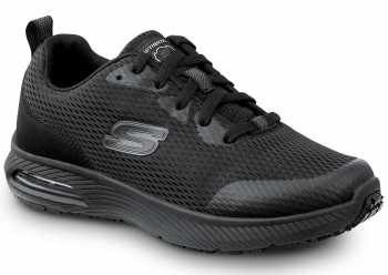 Skechers SSK8347BLK Jenny, Women's, Black, Soft Toe, Slip Resistant Athletic