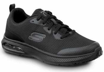 SKECHERS Work SSK9149 Jason, Men's, Black, Soft Toe, Slip Resistant Athletic