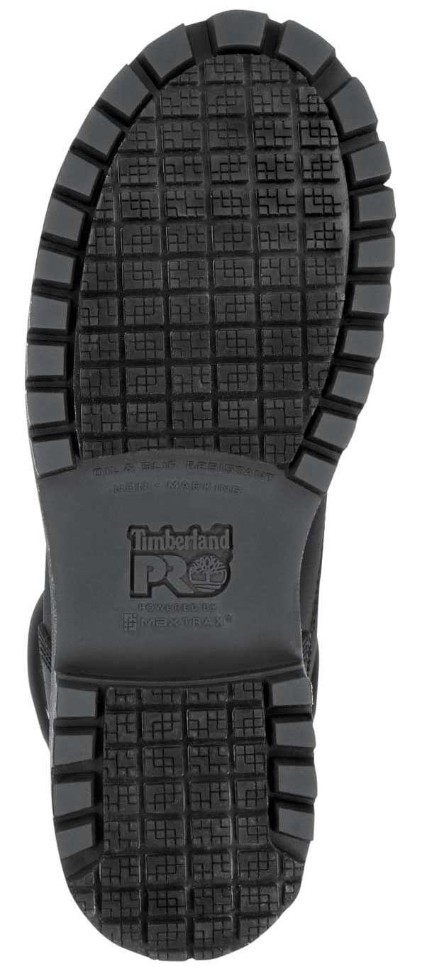Timberland PRO STMA1X8E 6IN Direct Attach Women's, Black, Soft Toe, EH, WP/Insulated