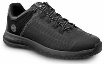Timberland PRO STMA1XQX Powerdrive, Men's, Black, Soft Toe, EH, Low Athletic
