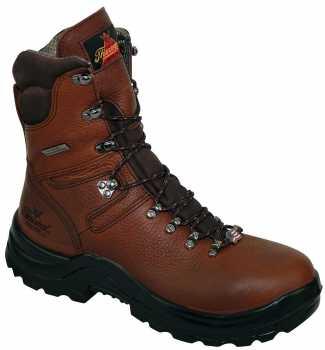 Thorogood TG804-3268 Men's Brown, Steel Toe, EH, 8 Inch, Waterproof Boot