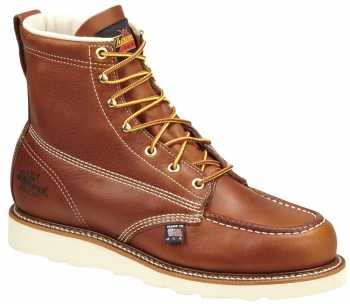 Thorogood TG804-4200 Men's Brown, Steel Toe, EH, 6 Inch, Wedge Boot