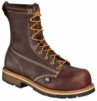 Thorogood TG804-4368 Men's Brown, 8 Inch, Comp Toe, EH Boot