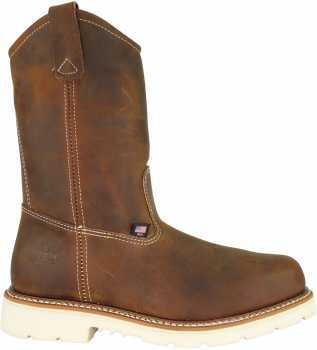Thorogood TG804-4372 Men's, Brown, Steel Toe, EH, 11 Inch Wellington
