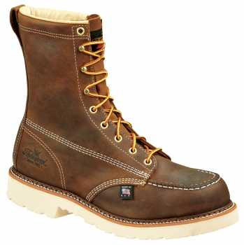 Thorogood TG804-4378 Men's, Brown, Steel Toe, EH, 8 Inch Boot
