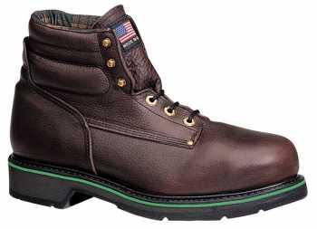 Thorogood 804-4711 Men's Black Walnut, Made In USA, Steel Toe, SD, 6 Inch Boot