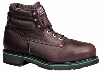Thorogood 804-4711 Men's Black Walnut, Made In USA, Steel Toe, SD, 6 Inch Boot