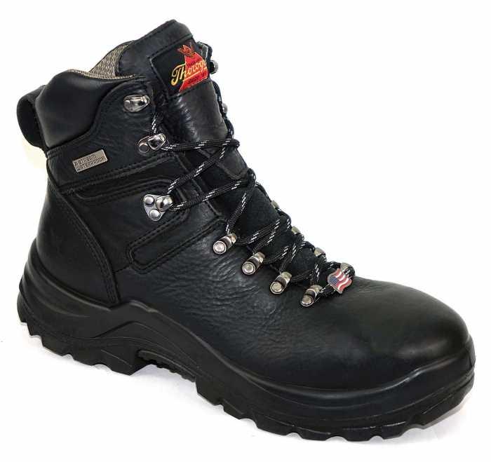 Thorogood TG804-6266 Omni, Men's Black, Steel Toe, EH, Waterproof, 6 Inch Boot