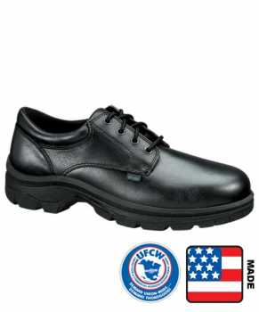 Thorogood TG804-6905 Soft Streets, Men's, Black, Steel Toe, EH, Slip Resistant Oxford