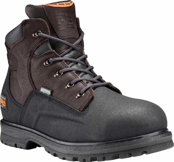 Timberland PRO TM47001 Brown/Black, Men's, Steel Toe, EH, 6 Inch Work Boot