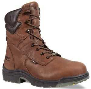 Timberland PRO TM47019 Brown, Men's, TiTAN Alloy Toe, EH, Waterpoof, 8 Inch Work Boot