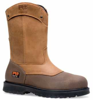 Timberland TM89604 Rigmaster, Men's, Brown, Steel Toe, EH, WP, Pull On Boot