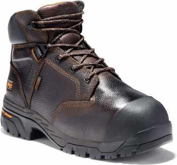 Timberland PRO TM89697 Brown, Men's, Helix Internal Met Guard, Comp Toe, EH, 6 Inch Boot