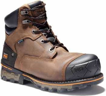 Timberland PRO TM92615 Boondock, Men's, Brown, Comp Toe, EH, 6 Inch Boot