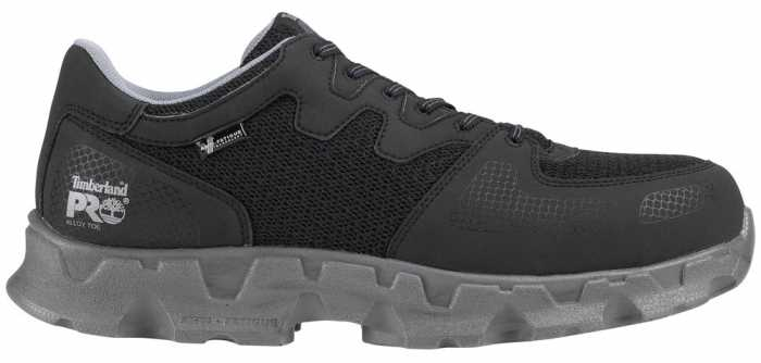 Timberland TM92649 Powertrain SD, Black, Men's, Alloy Toe, Low Casual