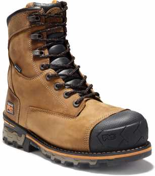 Timberland PRO TM92671 Boondock, Men's, Brown, Comp Toe, EH, WP, 8 Inch