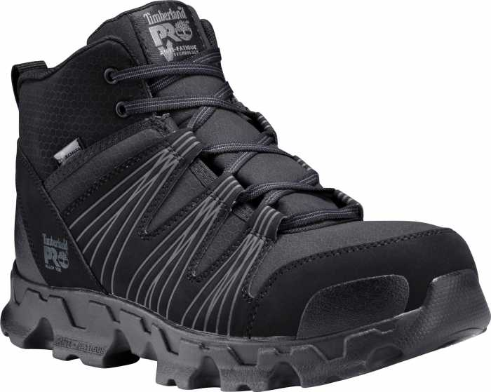 Timberland TMA11QF Men's Black, Alloy Toe, SD, Mid High Hiker