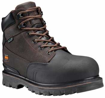 Timberland PRO TMA11RO Rigmaster, Men's, Brown, Steel Toe, EH, WP, 6 Inch Boot