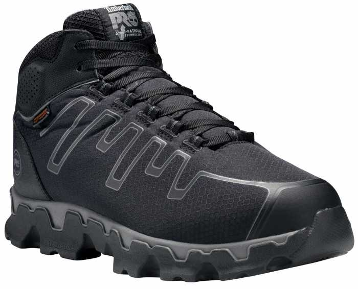 Timberland PRO TMA1GHM Powertrain, Men's, Black, Alloy Toe, EH, Mt Hiker