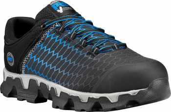 Timberland PRO TMA1HRU Powertrain, Men's, Black/Blue, Alloy Toe, EH, Casual
