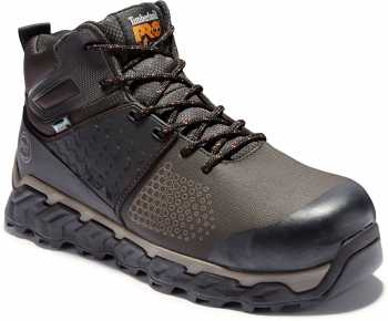 Timberland PRO TMA1KBO Ridgework, Men's, Brown, Comp Toe, EH, WP, Mid High
