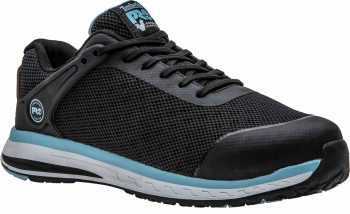 Timberland PRO TMA1ORV Drivetrain, Women's, Black/Blue, Comp Toe, SD, Low Athletic