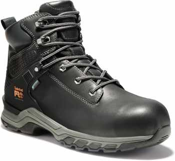 Timberland PRO TMA1RU5 Hypercharge, Men's, Black, Comp Toe, EH, WP, 6 Inch Boot