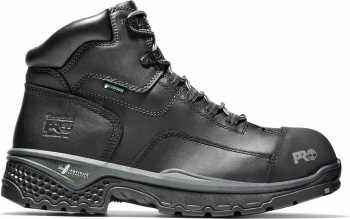 Timberland PRO TMA1XJP Bosshog, Men's, Black, Comp Toe, EH, PR, WP, 6 Inch Boot