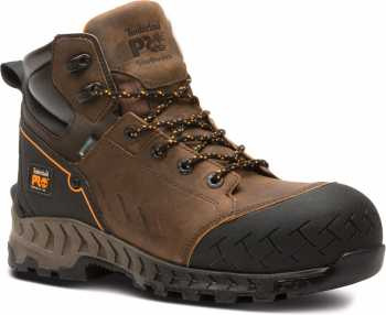 Timberland PRO TMA225Q Work Summit, Men's, Brown, Comp Toe, EH, WP, 6 Inch Boot